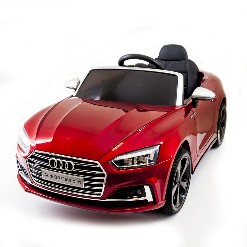 Audi S5 Red Metallic
