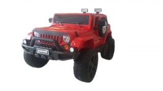 Электромобиль Jeep Wrangler Red