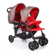Baby Care Tandem Grey/Red