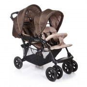 Baby Care Tandem Brown/Grey