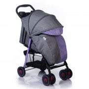 BabyHit Simpy Purple-Grey-Linen