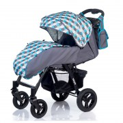 Коляска BabyHit Travel Air Grey-Blue
