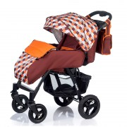 Коляска BabyHit Travel Air Brown-Orange