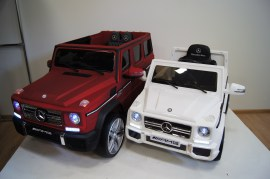 Электромобиль Mercedes G65 AMG Cherry Matt