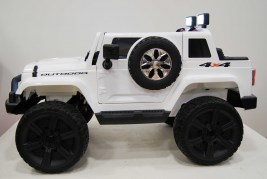 Электромобиль Jeep Wrangler White