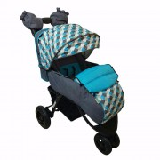 BabyHit Voyage Air Grey-Blue