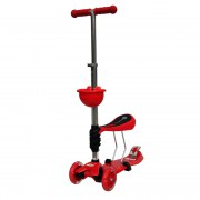 BabyHit ScooterOk Tolocar Red