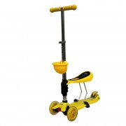 BabyHit ScooterOk Tolocar Yellow