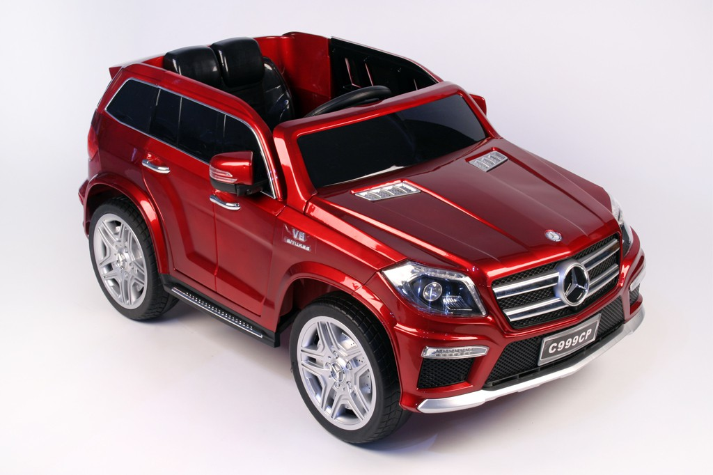 Электромобиль Mercedes GL63 Red